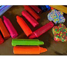 crayons Photographic Print