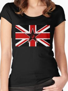 USR of Great Britain & Northern Ireland Women's Fitted Scoop T-Shirt