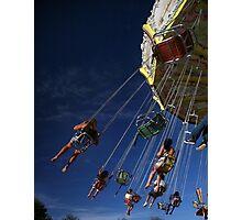 blue sky fun  Photographic Print