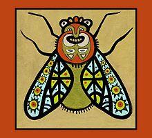 Happy Totem Fly by sarahstoneart