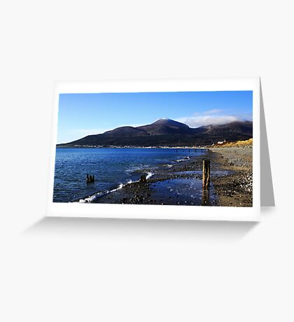 Mourne View Greeting Card