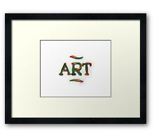 Acrylic Art Framed Print