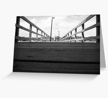 Biloxi Pier Greeting Card