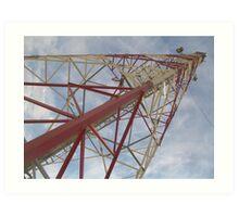 Communications Tower Art Print