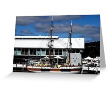 photoj Tas, Hobart Waterfront Greeting Card