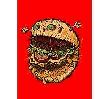 Monster Burger Photographic Print