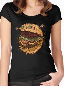Monster Burger Women's Fitted Scoop T-Shirt