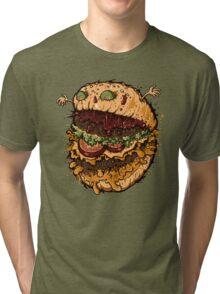 Monster Burger Tri-blend T-Shirt