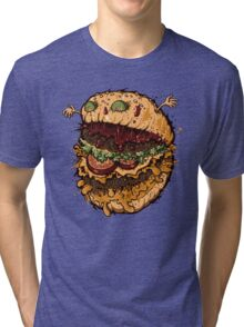 Monster Burger Tri-blend T-Shirt