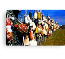 """Ocean City Fence"" Canvas Print"