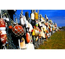 """Ocean City Fence"" Photographic Print"