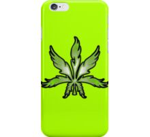 Leaf Abstract Green iPhone Case/Skin