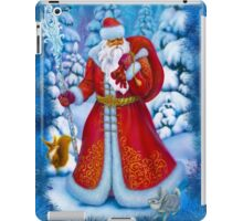 Merry Christmas with Love from Russia iPad Case/Skin