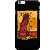 Le Chat Rouge iPhone Case/Skin