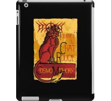 Le Chat Rouge iPad Case/Skin