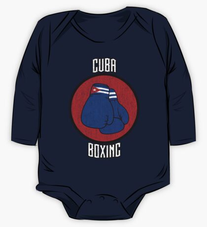 Cuba Boxing  One Piece - Long Sleeve
