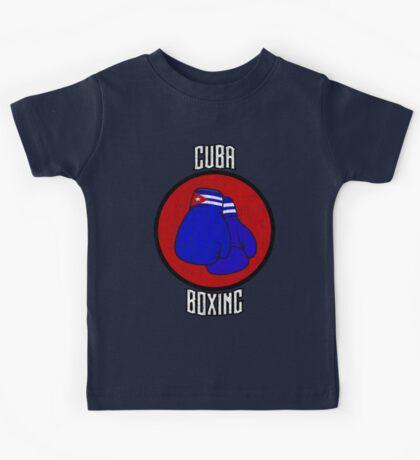 Cuba Boxing  Kids Tee