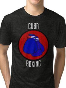 Cuba Boxing  Tri-blend T-Shirt