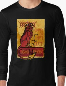 Le Chat Rouge Long Sleeve T-Shirt