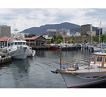 photoj Tas, Hobart waterfront Photographic Print