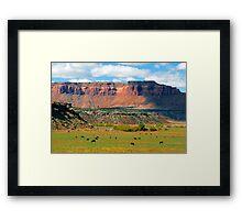 """Indiana Creek Ranch"" Framed Print"