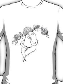 A Sloth's Afternoon Tea T-Shirt