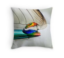Never Gonna Wake Up Throw Pillow