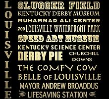Louisville Kentucky Famous Landmarks by Patricia Lintner