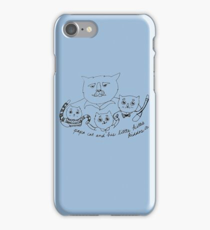 Papa Cat iPhone Case/Skin