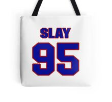 National football player Henry Slay jersey 95 Tote Bag
