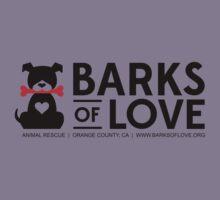 Clothing - Barks of Love - Main Logo #1 (Light) Kids Clothes