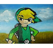 Oily Link Photographic Print