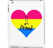 Pansexual - I Am Proud iPad Case/Skin