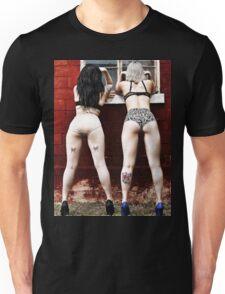 Peeping bums Unisex T-Shirt