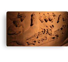 Lycian Sarcophagus - 5th BCE - Istanbul Archaeology Museum Canvas Print