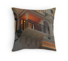 Venetian Balcony Throw Pillow