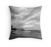Austinmer beach Throw Pillow
