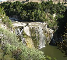 Waihi Falls Wairarapa NZ by niggle