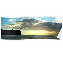 Lonely- Mona vale Beach, Sydney Australia Poster