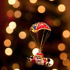 Skydiving Santa by Stephen Knowles