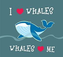 love whales by mangulica