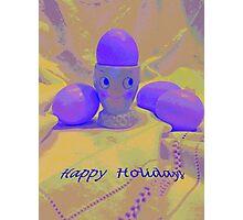 Happy Holidays Card  Photographic Print