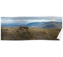 Bells Line Of Road, Blue Mountains, NSW Australia Poster