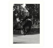 Jumper! Art Print