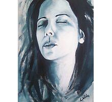 Self Portrait - acrylic # 3 Photographic Print