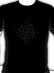 Mandala 1 Back In Black T-Shirt