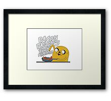 Bacon Pancakes Framed Print