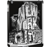 New York City Pencil by Tai's Tees iPad Case/Skin