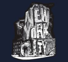 New York City Pencil by Tai's Tees Kids Clothes