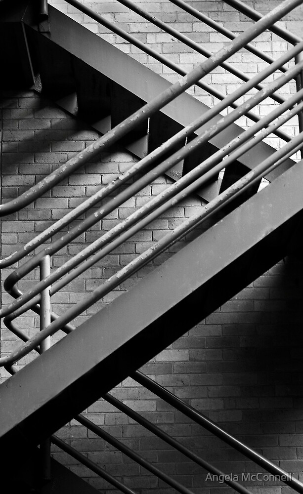Stairway by Angela McConnell